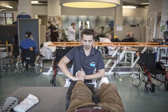 Revalidatieziekenhuis RevArte kinesitherapeut
