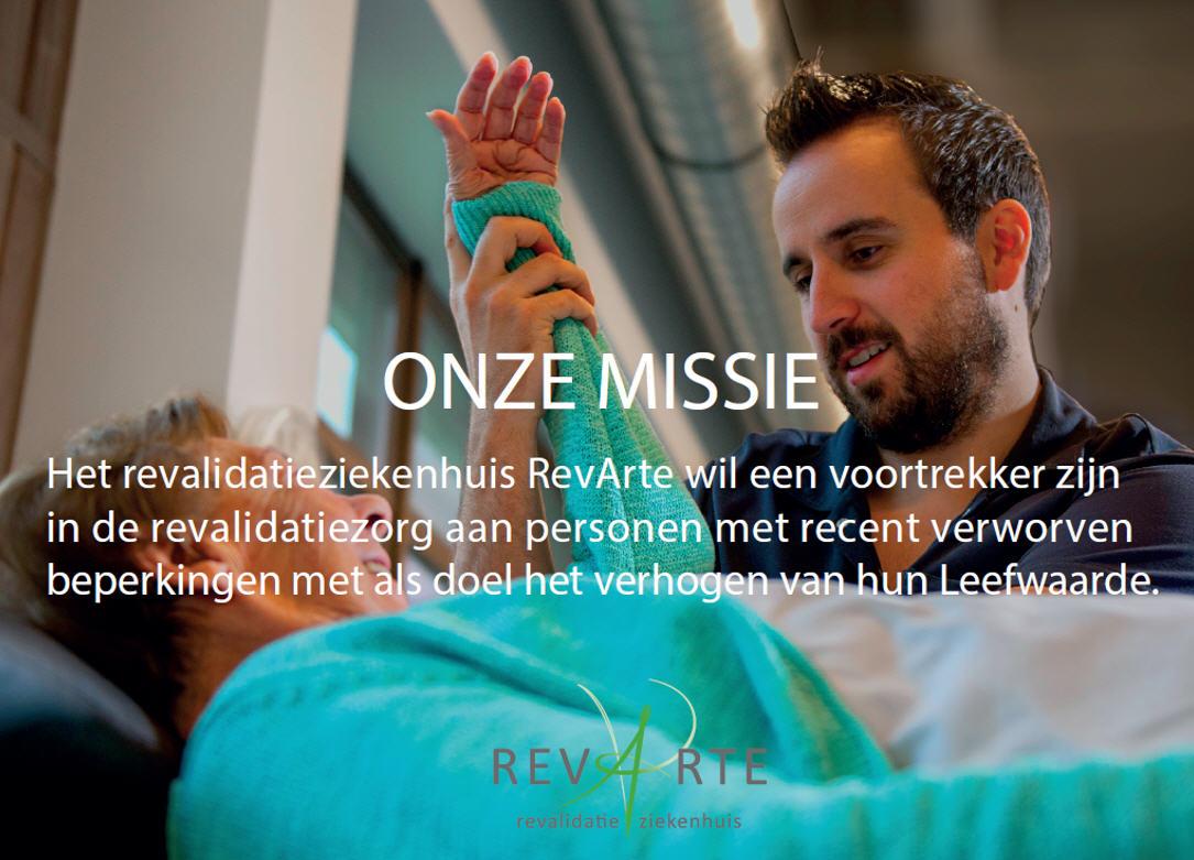 revalidatieziekenhuis revarte missie